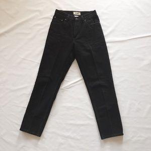 Vintage L.L. Bean Black Mom Jeans